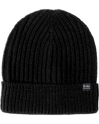 Bickley + Mitchell - Cuffed Ribbed Knit Beanie - Lyst