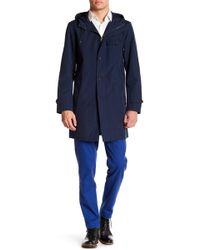 Brooks Brothers - Funnel Neck Drawstring Hooded Coat - Lyst