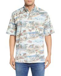 Reyn Spooner - 'plantation Days' Classic Fit Wrinkle-free Shirt - Lyst