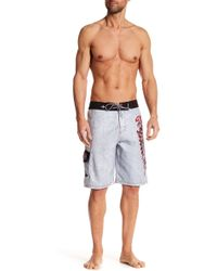 Affliction - Apache Boardshort - Lyst