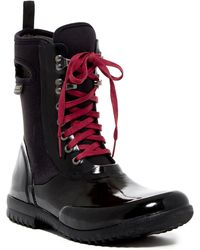 Bogs - Sidney Solid Waterproof Lace-up Boot - Lyst