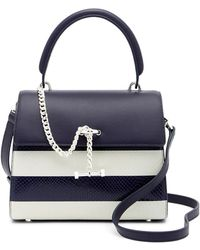 Luana Italy | Paley Mini Leather Satchel | Lyst
