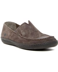 Born - Mackay Suede Loafer - Lyst