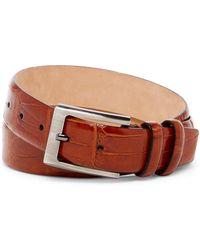 Tommy Bahama - Croc-embossed Italian Leather Belt - Lyst