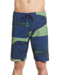 Cova - 'heads Or Tails' Board Shorts - Lyst