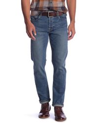 Current/Elliott - Slim Straight Fit Jeans - Lyst
