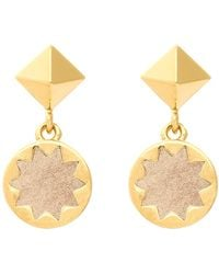 House of Harlow 1960 - Sunburst Drop Earrings - Lyst