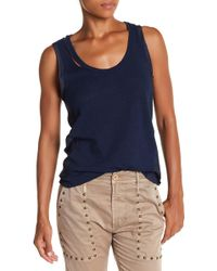 Calvin Rucker - Really Don't Care Torn Tank - Lyst