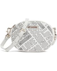 Love Moschino - Embossed Clutch - Lyst