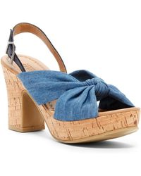 Kenneth Cole Reaction - Tole Booth Platform Slingback - Lyst