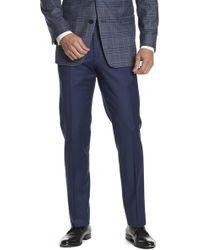 "Brooks Brothers - Blue Regent Fit Suit Separates Trouser - 30-34"" Inseam - Lyst"