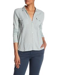 Lucky Brand - Button Western Shirt - Lyst