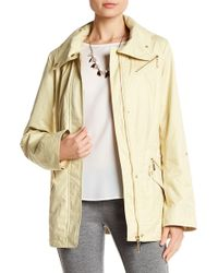 Ellen Tracy - Chintz Zip Up Anorak - Lyst