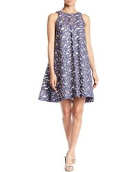 Paper Crown - Dauro Floral Embroidered Shift Dress - Lyst