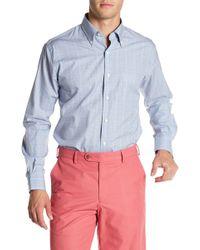 Peter Millar - Cape Glen Plaid Print Regular Fit Shirt - Lyst