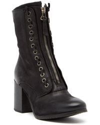 Miz Mooz - Nikita Laced Leather Boot - Lyst