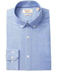 Original Penguin - Twill Oxford Heritage Slim Fit Dress Shirt - Lyst
