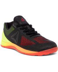 7974544314b Lyst - Reebok Crossfit Nano Pump Fusion Training Sneaker (women) in ...