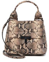 T Tahari - Reset Leather Crossbody Bag - Lyst
