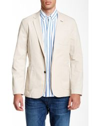 Bonobos - Washed Slim Fit Chino Blazer - Lyst