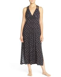 Midnight By Carole Hochman - Racerback Jersey Nightgown - Lyst