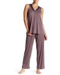 Carole Hochman - Sleeveless Pyjama 2-piece Set - Lyst