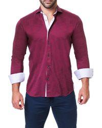 Maceoo - Einstein Trim Fit Shirt - Lyst