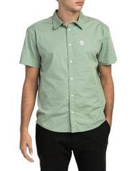 RVCA - Stress Short Sleeve Shirt - Lyst