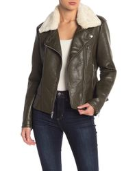 French Connection - Pleather Jacket - Lyst