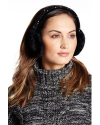 UGG | Two-tone Sparkle Genuine Dyed Shearling Earmuffs | Lyst