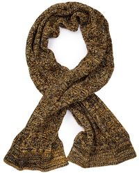 Scotch & Soda - Cable Knit Scarf - Lyst