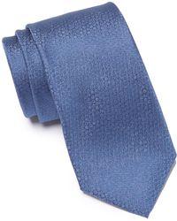 Calvin Klein - Layered Daisy Silk Tie - Lyst