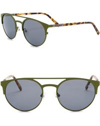cf250cf9f5 Lyst - Timberland Men s Aviator Gunmetal Sunglasses Grey Polarized ...