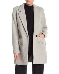 BCBGeneration - Studded Coat - Lyst