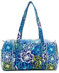 Vera Bradley - Small Duffel Travel Bag - Lyst