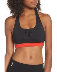 Zella - Lace It Up Sports Bra - Lyst