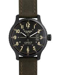 Filson - Men's Mackinaw Field Chronograph Argonite Quartz Watch - Lyst