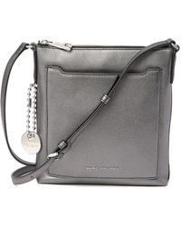 Marc Jacobs - Tourist Metallic Leather Ns Crossbody Bag - Lyst
