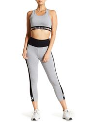 Bebe - High Waisted Paneled Leggings - Lyst