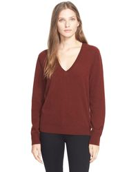 Liberty - 'the Deep-v' Cashmere V-neck Sweater - Lyst