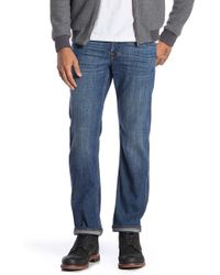 7 For All Mankind - Slimmy Washed Slim Fit Jeans - Lyst