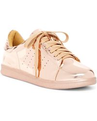 N.y.l.a. - Metallic Lace-up Trainer - Lyst