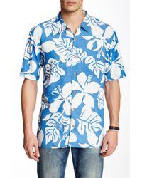 Jack O'neill - Maya Bay Printed Short Sleeve Regular Fit Shirt - Lyst