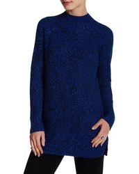 Chaus - Mock Neck Pocket Jumper - Lyst