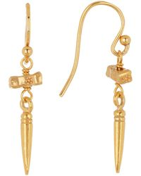 Chan Luu - 18k Gold Plated Sterling Silver Earrings - Lyst