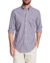 Brooks Brothers - Broadcloth Regent Gingham Regular Fit Shirt - Lyst