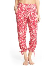 Robin Piccone - 'flora Vine' Print Cover-up Pants - Lyst