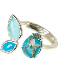 Ippolita - Rock Candy Sterling Silver Cluster Stone Open Ring - Size 7 - Lyst
