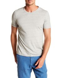 Benson - French Terry V-neck Tee - Lyst