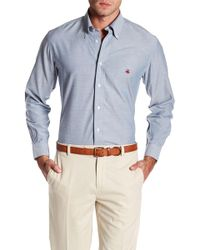 Brooks Brothers - Solid Oxford Slim Fit Shirt - Lyst